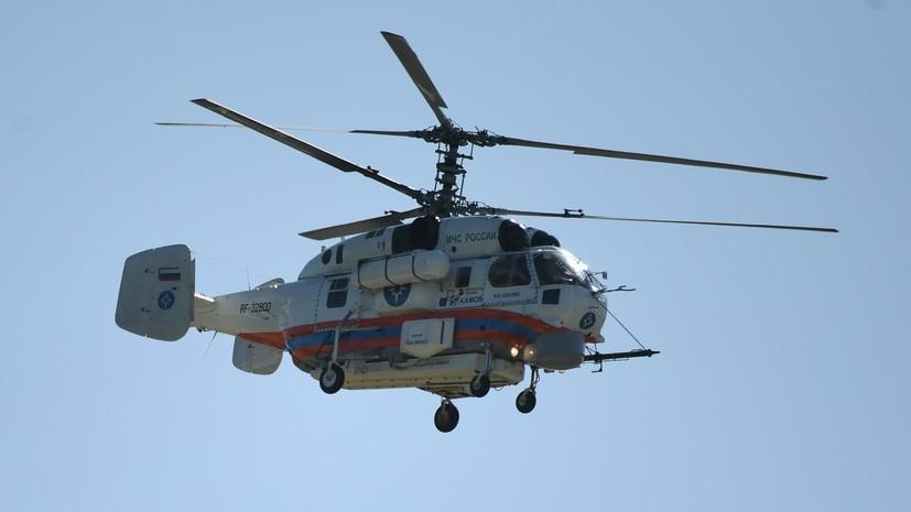 Авиация МЧС привлечена к поиску унесённых течением в море детей в Сочи