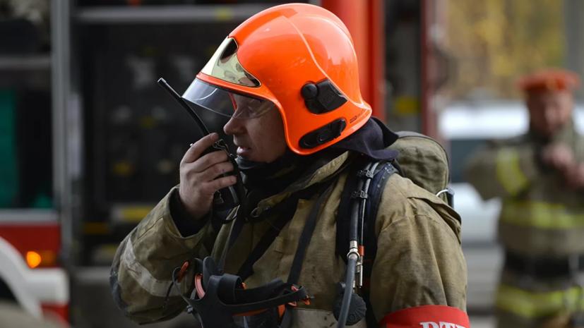 Из школы-интерната в Свердловской области эвакуировали более 30 человек из-за пожара