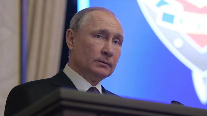 Никто не забудет, чей флаг развевался над Рейхстагом, заявил Путин