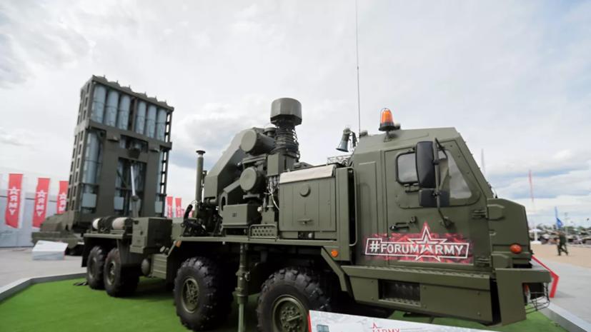 ВКС России получили первый комплекс С-350 «Витязь»