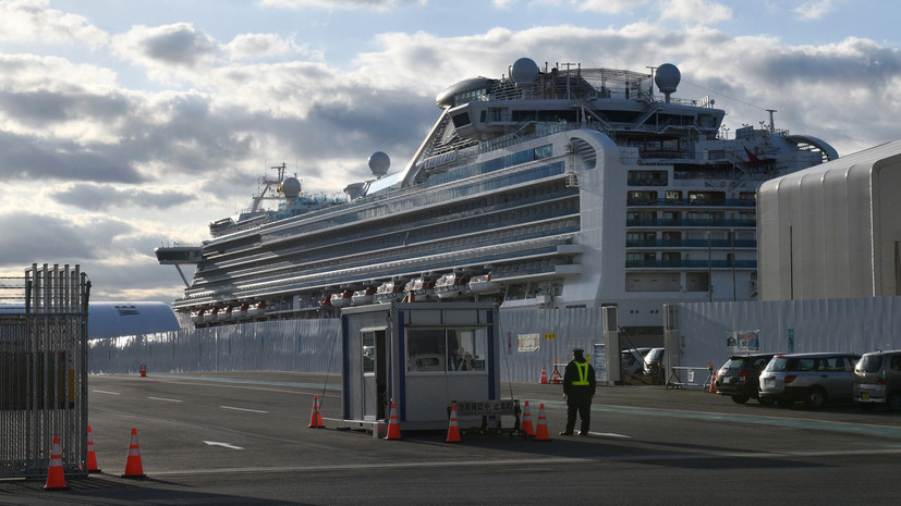«Находятся в инфекционных стационарах»: у трёх эвакуированных с лайнера Diamond Princess россиян подтверждён коронавирус