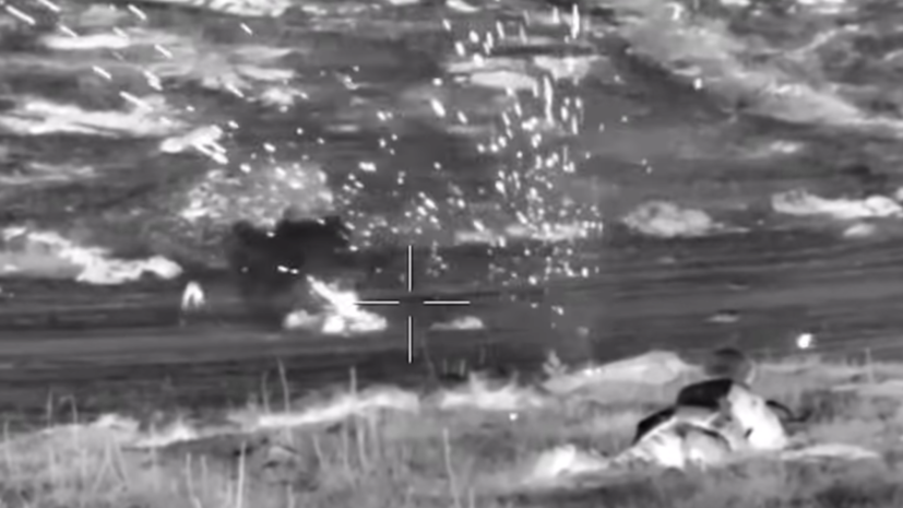 Минобороны России опубликовало видео работы ССО в ходе операций
