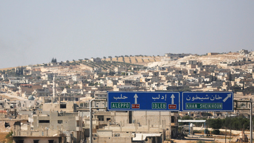 Источник: сирийские войска отразили атаки боевиков на Саракиб в Идлибе