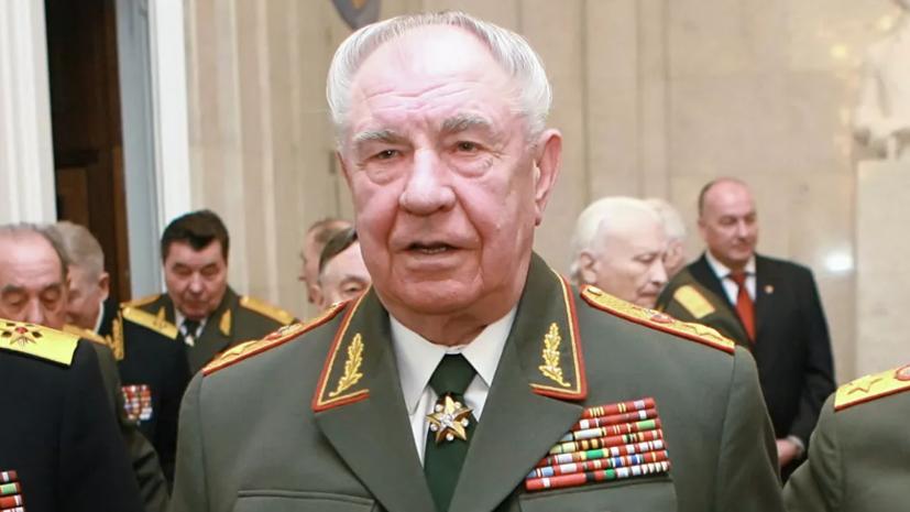 Шойгу принял участие в церемонии прощания с маршалом Дмитрием Язовым