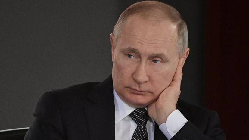 Путин поздравил военных с Днём Сил специальных операций