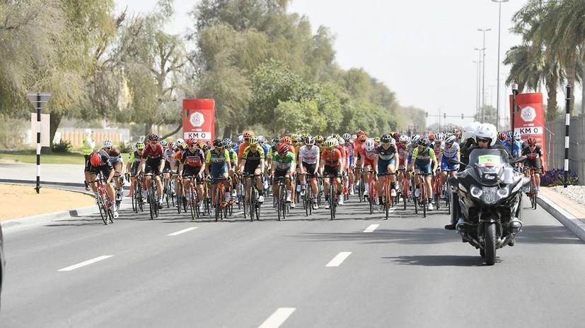 Велогонка «Тур ОАЭ» была отменена после выявления коронавируса у двух итальянцев