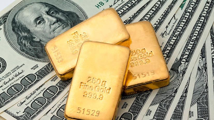 Россия продала Британии золото на рекордную сумму $5 млрд