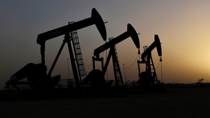 Цены на нефть марки WTI опускаются более чем на 5%