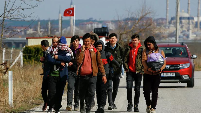В Греции пообещали не допустить прорыва мигрантов из Турции
