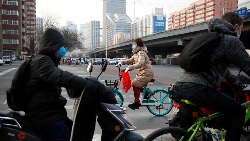 Число жертв коронавируса в Китае увеличилось до 2835