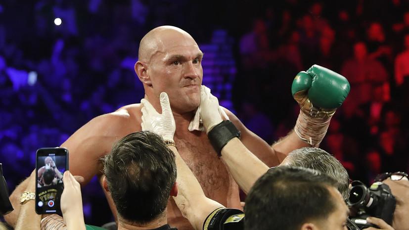 Боксёру Джошуа придётся отказаться от чемпионского пояса WBO ради боя с Фьюри