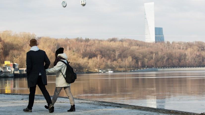 В Гидрометцентре прогнозируют потепление в Москве к 8 марта до +9 °С