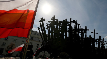 Памятник погибшим и убитым на Востоке, Варшава