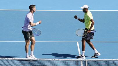 Рам и Солсбери выиграли Australian Open в мужском парном разряде