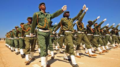 Выпускной в военной академии на востоке Ливии