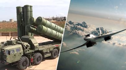Испытания пусковой установки ЗРК С-500; дальний ракетоносец-бомбардировщик Ту-160