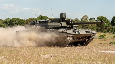 Опытный образец танка EMBT