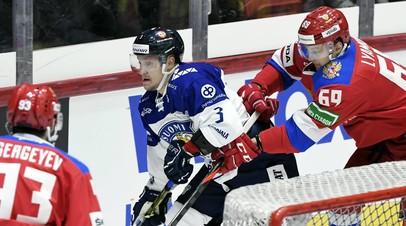 Неудавшийся эксперимент: сборная России проиграла Финляндии в матче Евротура, пропустив три шайбы за первые семь минут