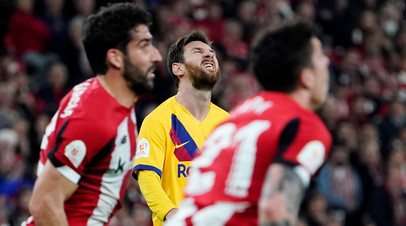 «Барселона» проиграла «Атлетику» и покинула Кубок Испании вслед за «Реалом»
