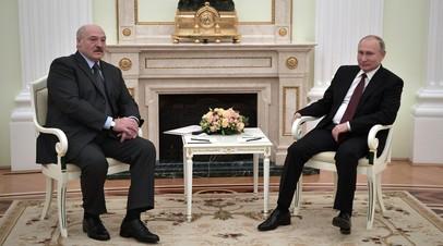 Лукашенко и Путин дошли «до глубины седых времён» в личных переговорах