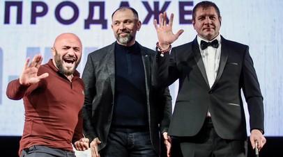 «Ты быстро устанешь, секунд на 20 тебя хватит»: как Емельяненко и Исмаилов провели пресс-конференцию
