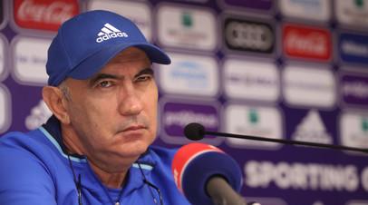 Милошевич назвал Бердыева одним из лучших тренеров в карьере