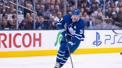 Хоккеист «Торонто» Мэттьюс догнал Овечкина в снайперской гонке НХЛ