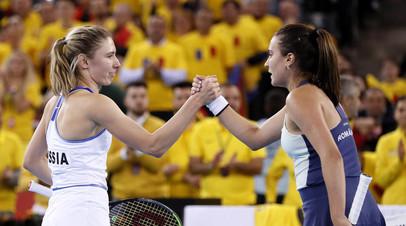 В группе сильнейших: женская сборная России по теннису вышла в финальный раунд Кубка федерации