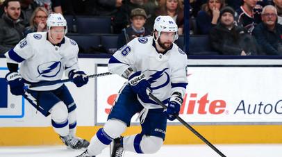 Кучеров повторил личный рекорд по результативной серии в НХЛ