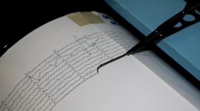 В Иране зафиксировали землетрясение магнитудой 5,5