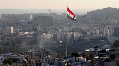 Взрыв произошёл в Дамаске