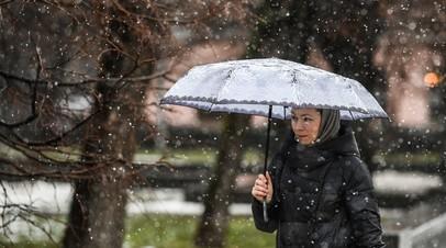 «Почувствуем возвращение зимы»: москвичам пообещали похолодание и снег на следующей неделе
