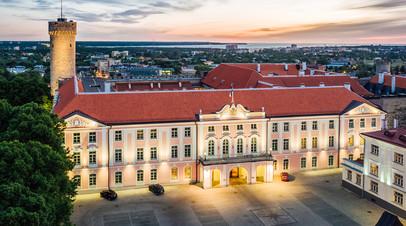 Здание эстонского Парламента