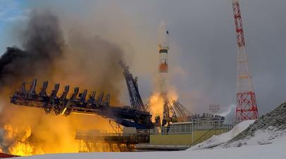 Пуск ракеты «Союз» с военным спутником — видео со стартовой площадки космодрома Плесецк