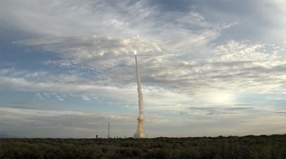 Наземные испытания ракеты SM-6