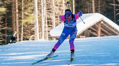 Одиннадцать лет ожидания: сборная России заняла восьмое место в женской эстафете на ЧМ по биатлону