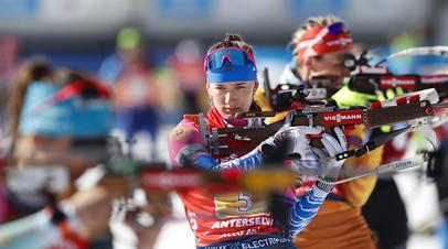 Штрафной круг Мироновой и 20 промахов: как россияне остались без медалей в эстафетах на ЧМ по биатлону
