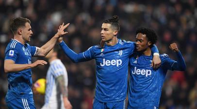 Гол Роналду помог «Ювентусу» победить СПАЛ в Серии А