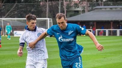 Дзюба получил повреждение в заключительном матче «Зенита» на тренировочном сборе