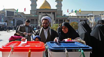 Парламентские выборы в Иране