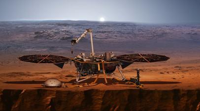 Автоматическая межпланетная станция InSight