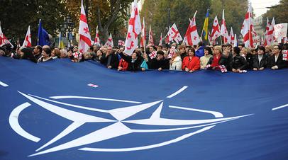 Антироссийский аргумент: как Грузия добивается вступления в НАТО