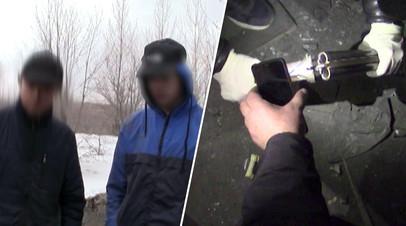 Тайник, обрез и зажигательные смеси: ФСБ пресекла нападение подростков на образовательное учреждение в Саратове