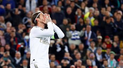 Рамос повторил рекорд по удалениям в Лиге чемпионов