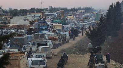 Турция призвала установить режим прекращения огня в Идлибе