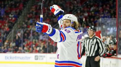 Панарин повторил личный рекорд по очкам в НХЛ за сезон