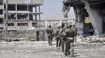 Глава Генштаба России обсудил с американским коллегой ситуацию в Сирии