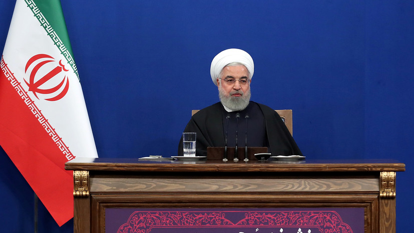 Рухани предложил встречу Иран — Сирия — Турция по Идлибу