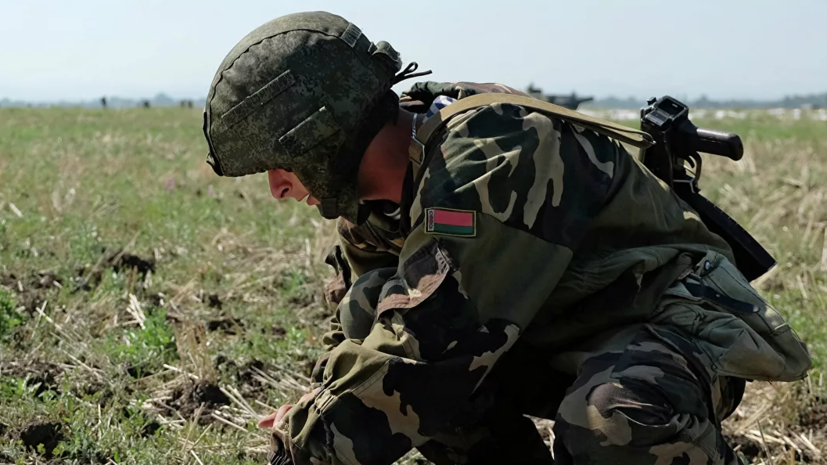 Десантники Белоруссии и морпехи Британии начали учения под Витебском