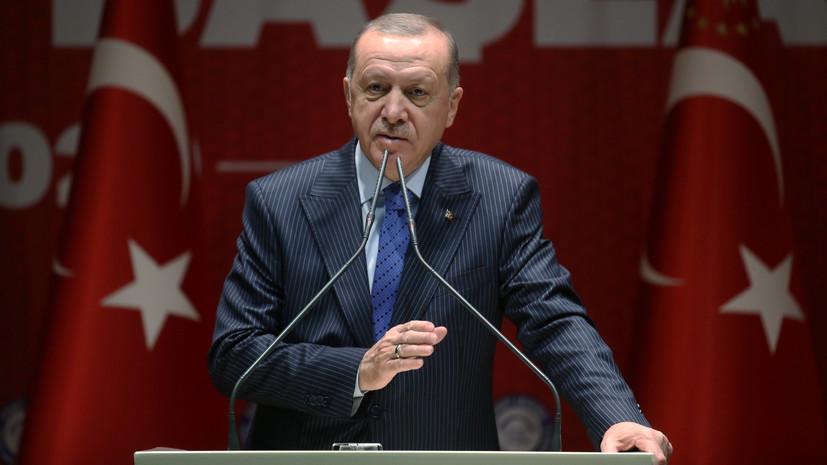 Эрдоган заявил об отсутствии проблем с Россией и Ираном в Сирии